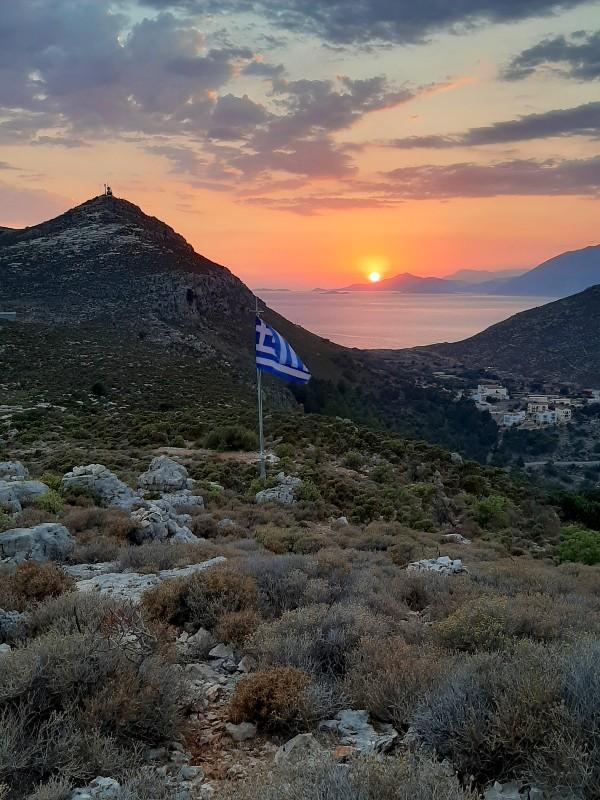 kastellorizo sunset