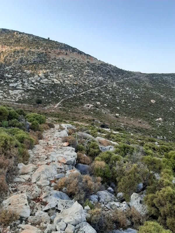 megisti hiking trail