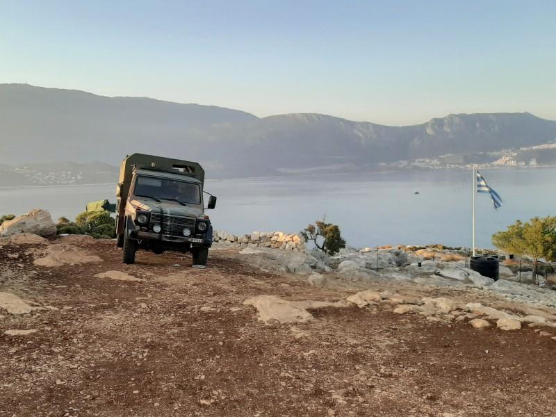 greek army jeep