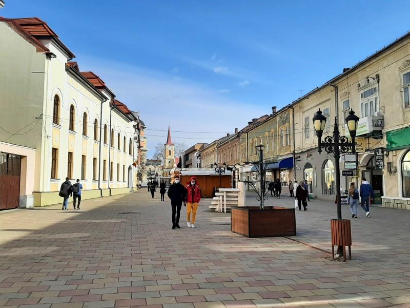 caransebes city centre