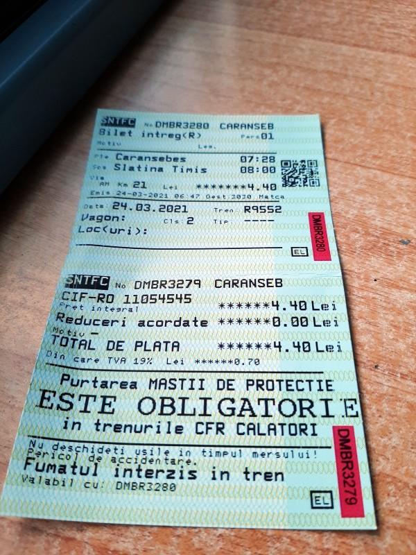 romania train ticket