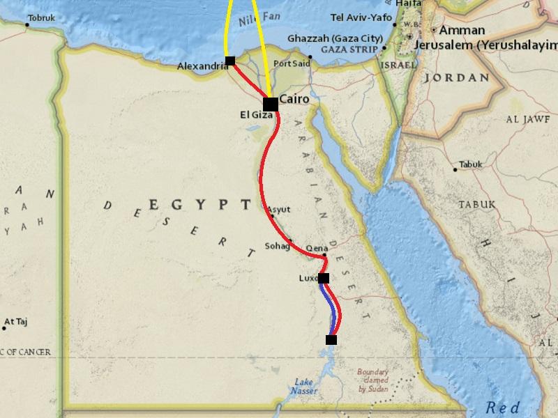 grand tour egypt