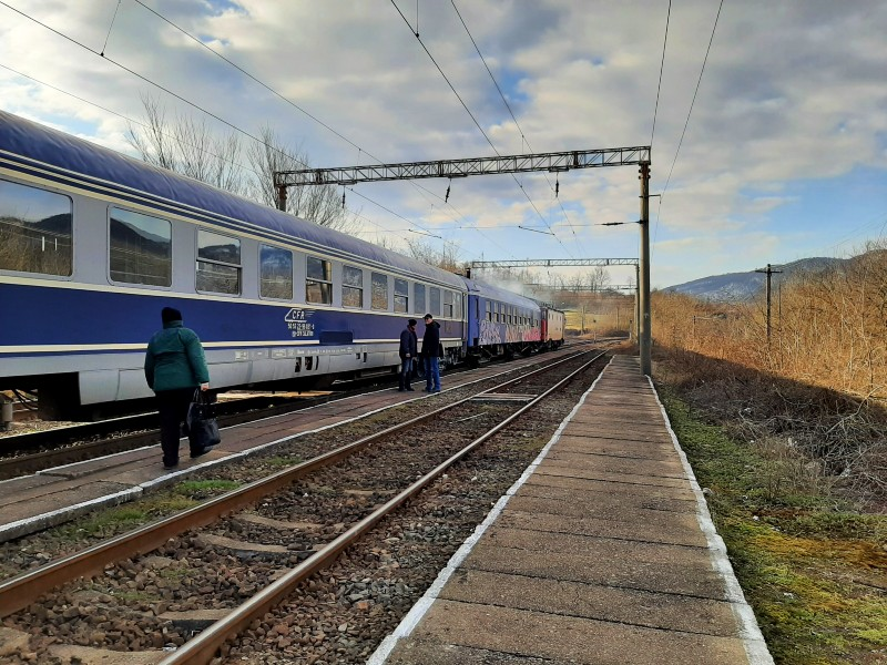 slatina-timiș train station romania