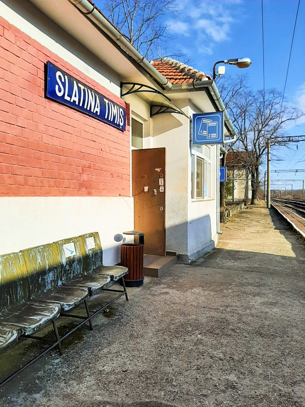 slatina timis railway station