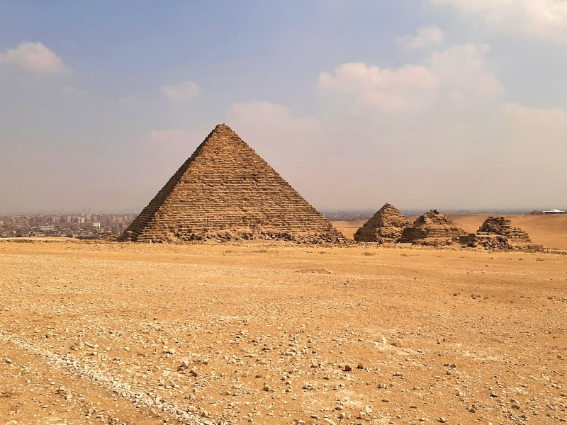 pyramid of menkaure pyramids trip report