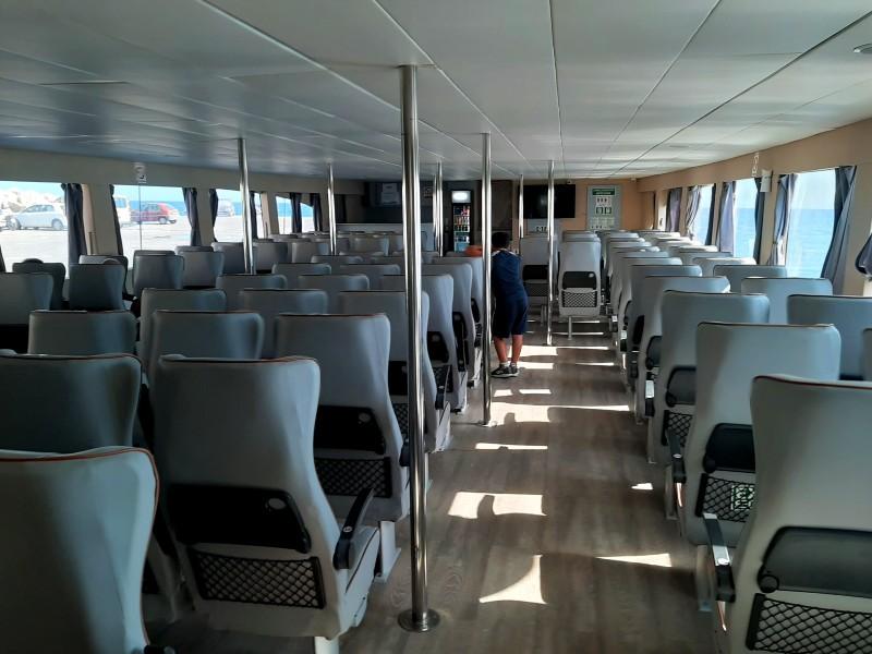 indoor saloon ferry