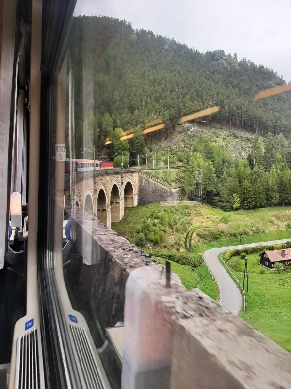 semmering railway austria train europe
