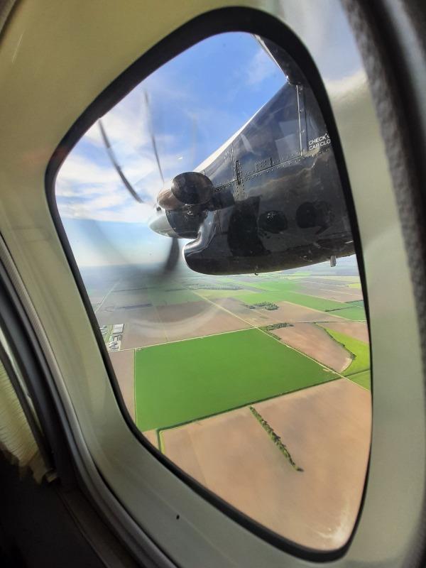 osijek airport landing