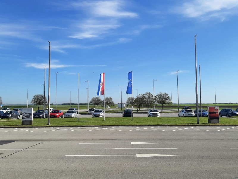 osijek airport croatia