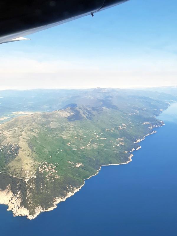 Učka Nature Park istria croatia trade air let l-410 turbolet