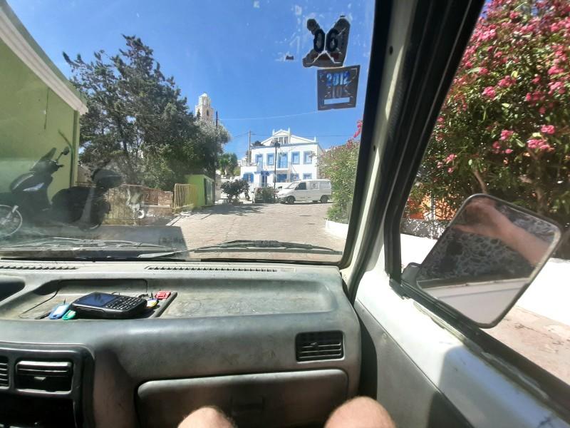 pick-up truck ride