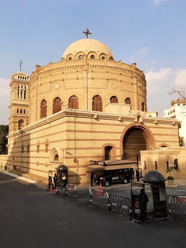 st george's church christian cairo