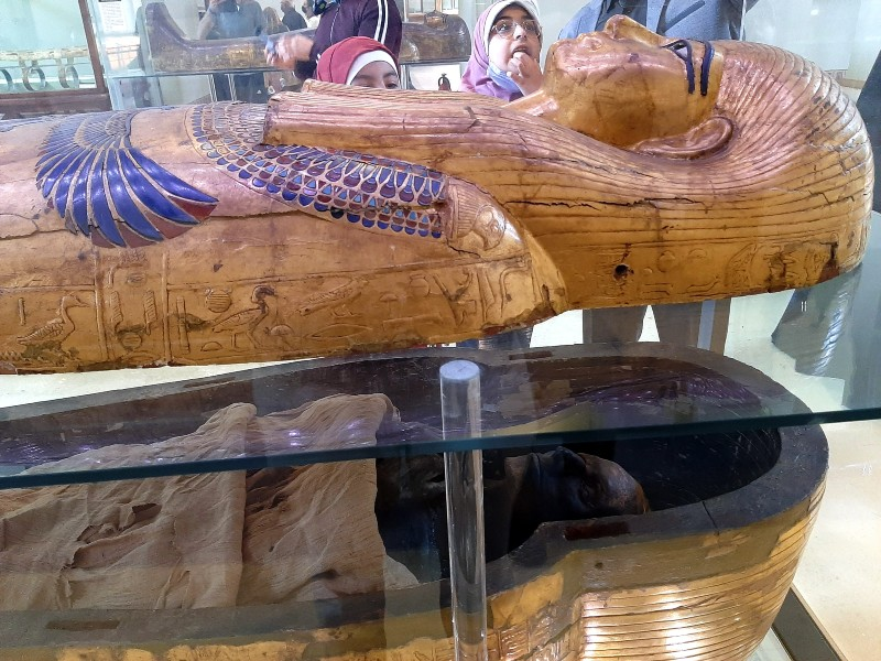 yuya mummy egyptian museum