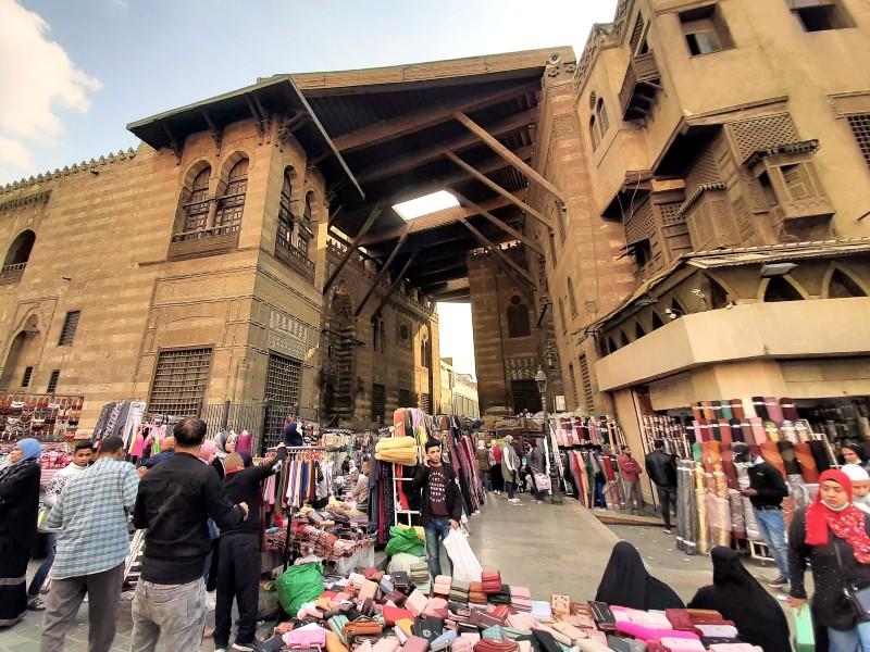 muizz street souq cairo