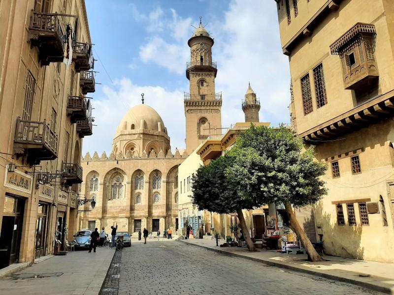 qalawun complex old town cairo egypt islamic