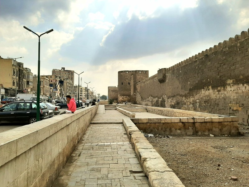 city walls cairo