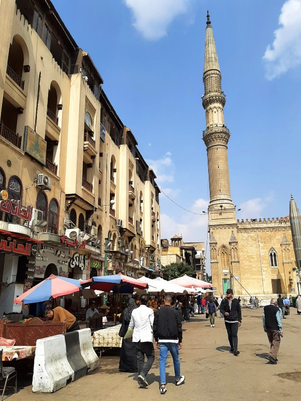 al hussein square cairo egypt
