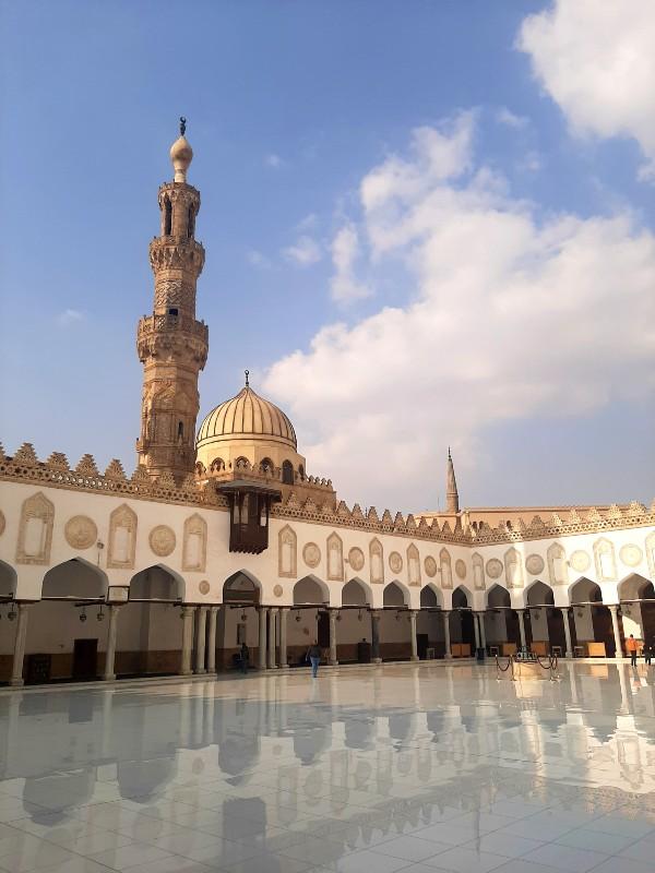 al azhar mosque cairo egypt old town