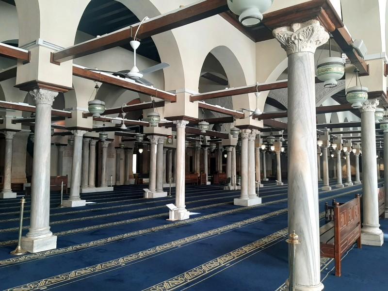 al-azhar mosque cairo egypt old town islamic