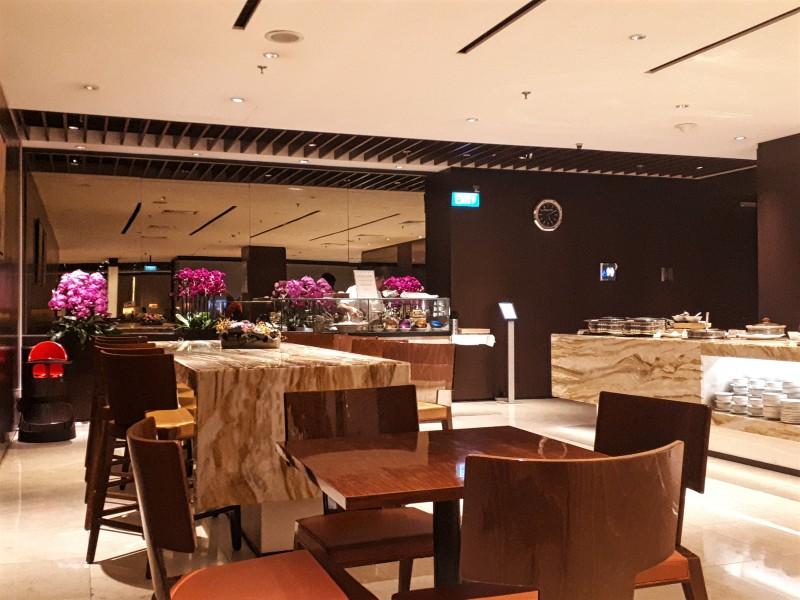 silverkris lounge buffet singapore