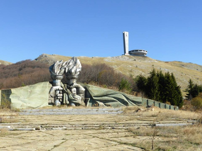 mount buzludzha monument bulgaria communist ufo spaceship