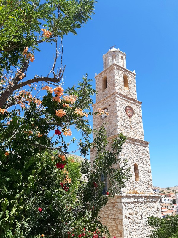halki clock tower