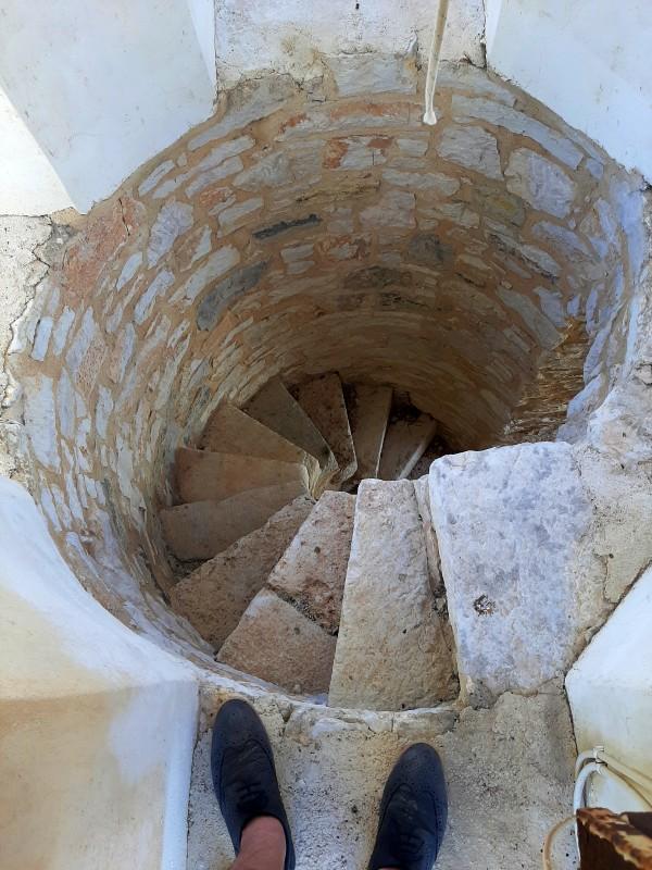 stairs belfry