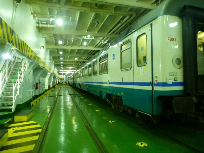 italy train ferry