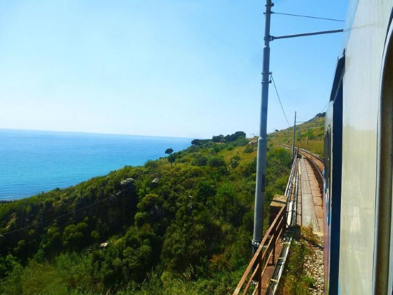 train travel italy railway