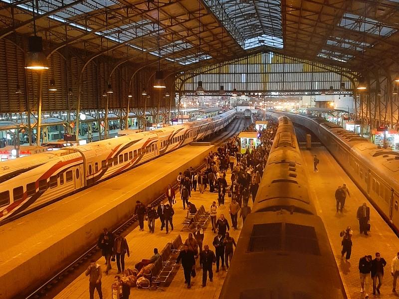 cairo ramses station egypt