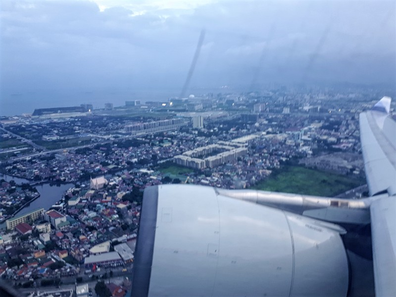 manila take-off china airlines airbus a330