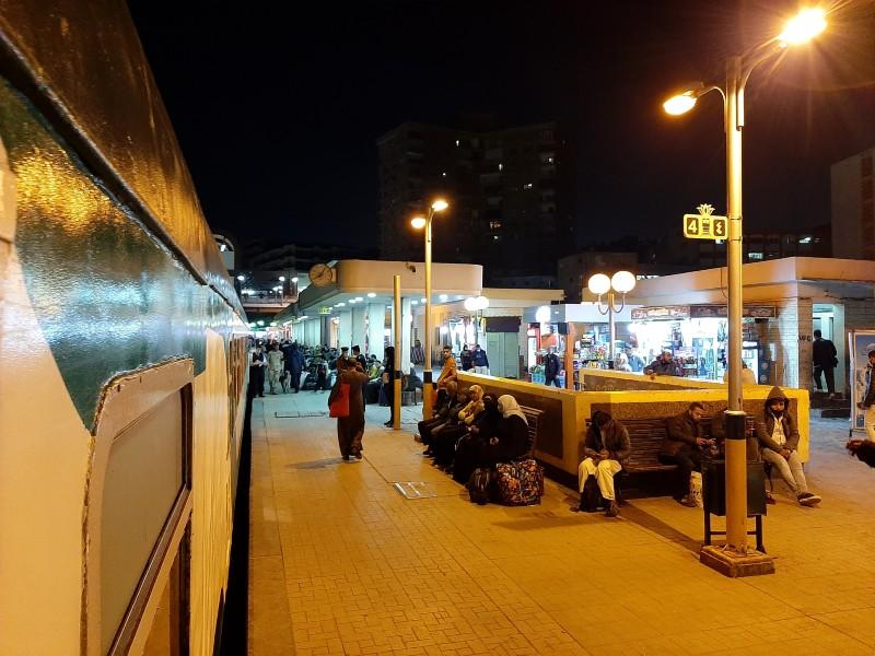 giza station ernst wattania sleeping train