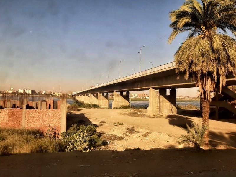 edfu nile bridge cairo aswan train