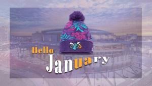 Hello January Charlotte Hornets Arena