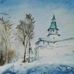 Картина «Ново-Иерусалимский монастырь»