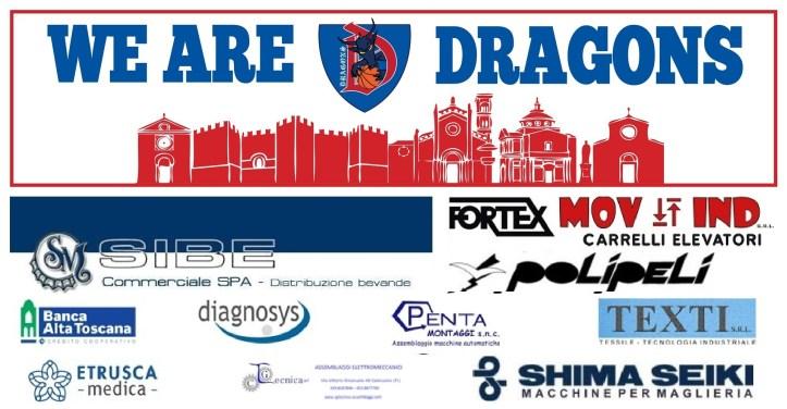 Presentazione Dragons - Cena di società 18 ottobre 2019