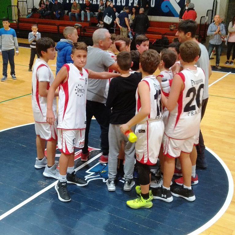 Esordienti: CGFS Dragons – A.S.D. Basket Massa e Cozzile 80 – 27