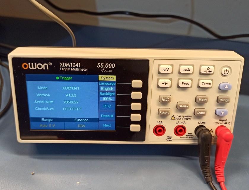 OWON XDM1041 Programmable Multimeter 1