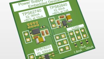 Low IQ power supply buck ldo board