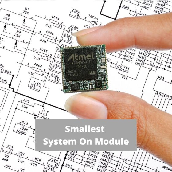 HaneSOM: Smallest Linux System on Module (20mm x 20mm) 1
