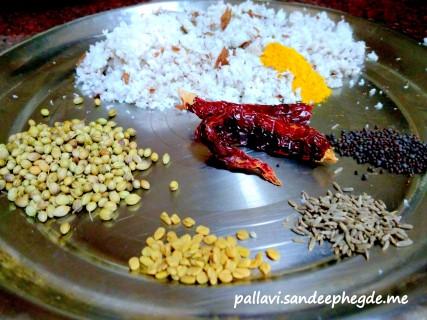 Basale Koddel : keep ingredients ready