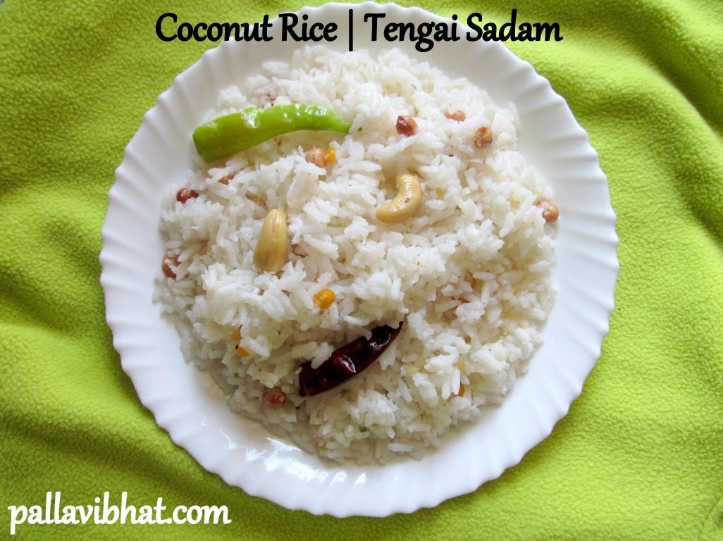 Coconut Rice | Tengai Sadam
