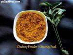 Chutney Powder | Chutney Pudi