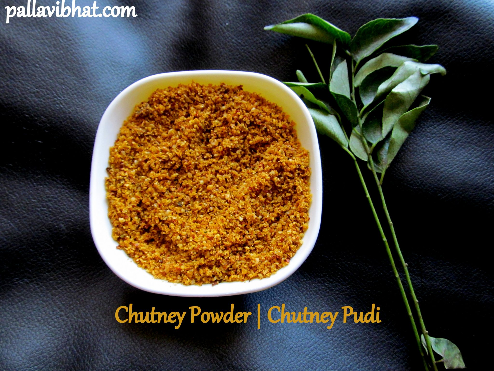 Chutney Powder Chutney Pudi