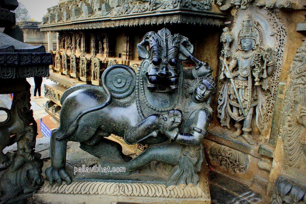 Chennakeshava temple entrance