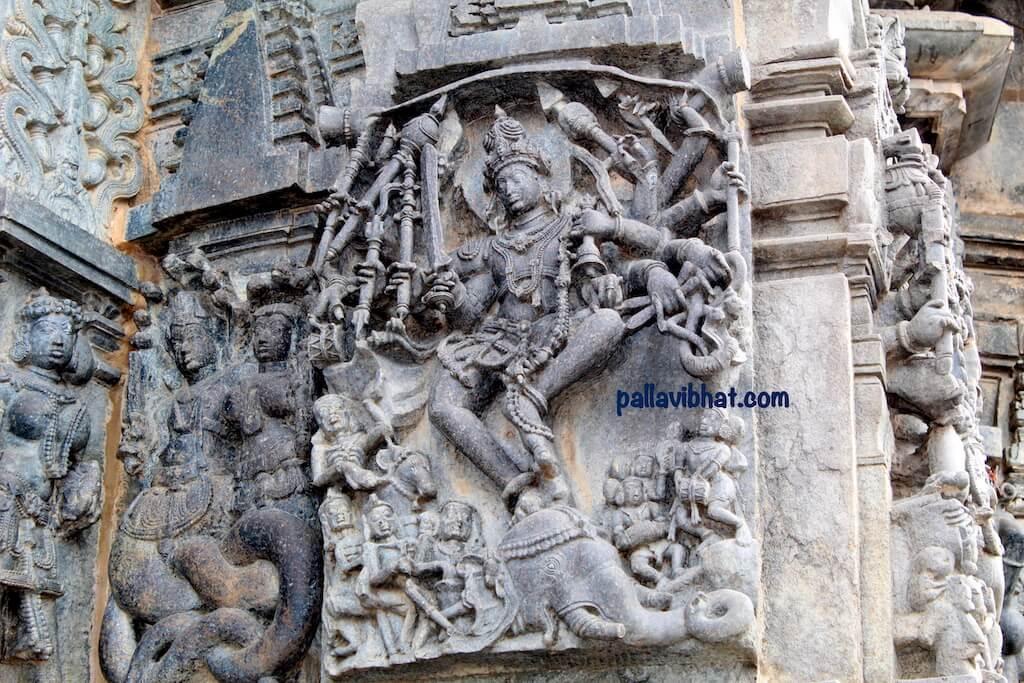 Gaja samhara-Belur