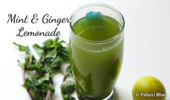 Mint Ginger Lemonade