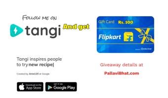 Tangi - Giveaway -April