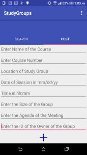 PostStudyGroup_empty_Screenshot