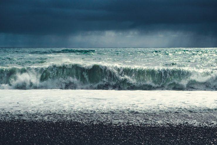 Reynisfjara shore